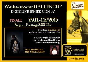 2013-12-Werbeplakat FINALE Hallencup DEZ 2013