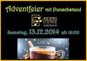 24Adventfeier mit Punschstand 13.12.2014